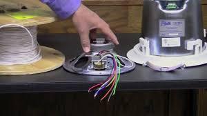 70v speaker systems part 1 youtube