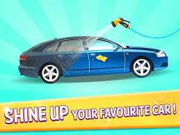 pink kid car car wash kids game android apps on google play