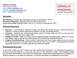 Air Force Resume Example by Luxurious And Splendid Full Stack Developer Resume 1 Developer