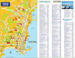 St Malo France Map by Ajaccio City Center Map