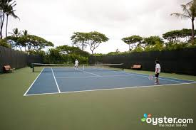 tennis at the marriott maui resort and ocean club oyster com