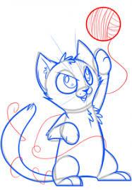 draw draw baby kitten hellokids