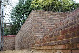 bricklayer and builder of garden walls retaining walls u0026 radius walls