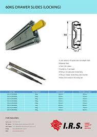 drawer slide locking mechanism 60kg drawer slide locking