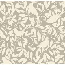 Waverly Home Decor by York Wallcoverings Waverly Cottage Birdsong Wallpaper Er8134 The
