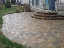 Flagstone Pavers Patio Backyard Paver Patio Designs Triyae Backyard Patio