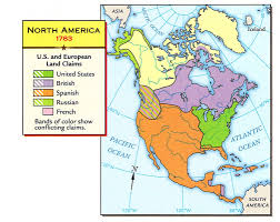 1783 Map Of The United States by 2 8 Study Notes History Hub