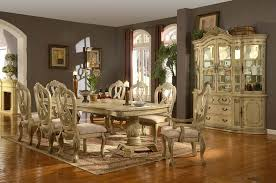 White Dining Room Furniture For Sale - fancy design antique white dining room set all dining room