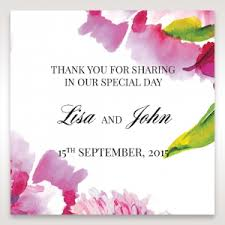 wedding gift labels accompanying gift tags to match your invitation