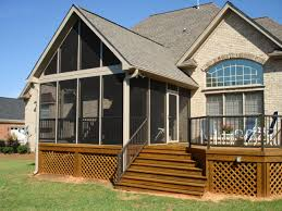 st louis screened porch builder archadeck design ideas elevated