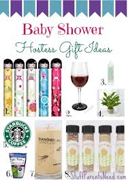 what to give as a thank you gift what to give my baby shower hostess image bathroom 2017