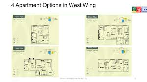 West Wing Floor Plan Close To Nature Far From Ordinary Ppt Download