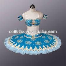 mb0884 navy blue belly ballet classical skirt tutu costume