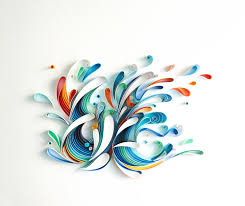 Yulia Brodskaya Colorful Quilled Typography By Sabeena Karnik Colossal