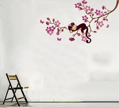 Nursery Monkey Wall Decals Monkey Wall Decals Decor Nursery Ideas Nursery
