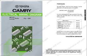 toyota camry electrical troubleshooting manual colour wiring