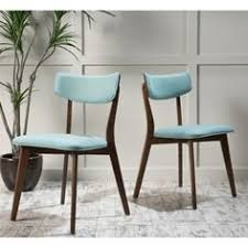 Tabouret Bistro Side Chair Hint Of Mint Set Of 2 Green Metal