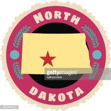 North Dakota travel symbols images North carolina travel sticker or luggage label vector art getty