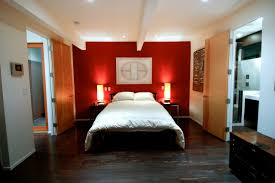 delighful bedroom design ideas red wall house paint interior color
