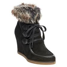 womens shearling boots size 11 s jaden shearling style boots black 7 5 merona products