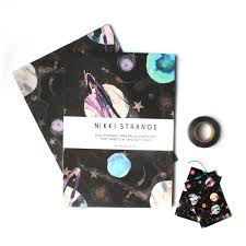 galaxy wrapping paper marble galaxy gift wrap set look