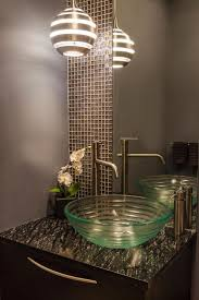 view contemporary powder room sinks room design plan excellent