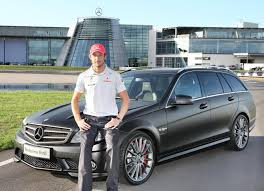 mercedes c63 wagon jenson button gets his mercedes c63 amg dr 520 uber wagon