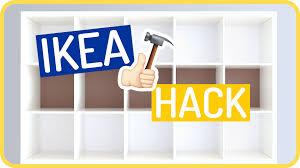 ikea kallax hack by sissi youtube