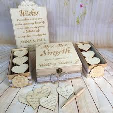 wish box wedding vintage rustic wedding wish box guest book alternative drop in box