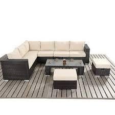 rattan corner sofa modern rattan corner sofa rattan stools and coffee table set