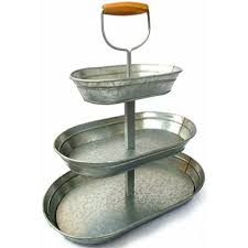 tiered serving stand tier glavanized steel serving stand 2 97 shipping
