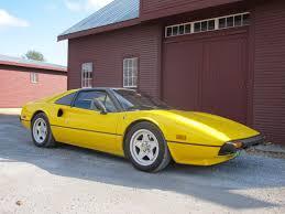 ferrari yellow yellow 1979 ferrari 308 gts