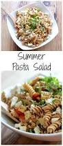pasta salad with grilled corn tomatoes and basil