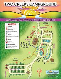 Wisconsin Campgrounds Map by Map U2013 Two Creeks Clothing Optional Campground