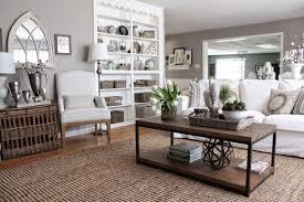 gray and light blue living room flower painting white ceramics