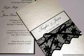 lace wedding invitations with beautiful design registaz