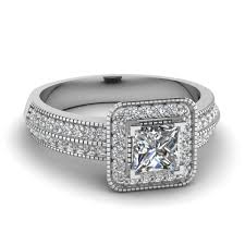 square engagement rings with halo 20 styles of square engagement rings that one can never resist