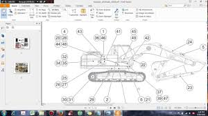 cat 320d excavator hydraulic system schematic dhtauto com youtube