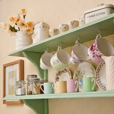 vintage on the shelf best kitchen shelving ideas ideal home