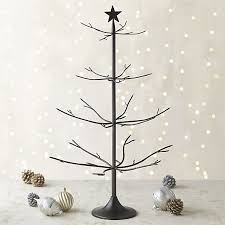 ornament tree bronze with brass solder ornament tree crate and barrel hol