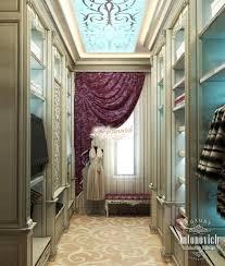 beautiful dressing room design in dubai by luxury antonovich design