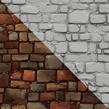Brick Wall by Http Handpaintedtextures Com Textures Brick Wall Hand Painting