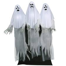 life sized ghost trio animated prop 375392 trendyhalloween com