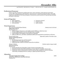 Sample Resume For Driver by Bus Driver Resume Sample Bus Driver Resume Examples