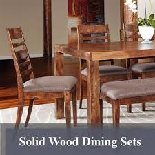 All Wood Dining Room Sets by Solid Wood Furniture King Dinettes Custom Dining Furniture