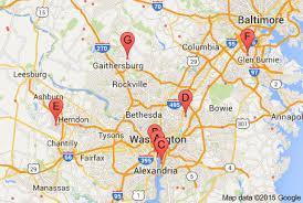 washington dc airports map dc airport transportation