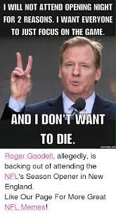 Roger Goodell Memes - 25 best memes about roger goodell meme and memes roger