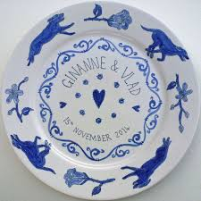 celebration plates 65 best personalised painted plates images on