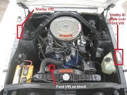 1968 mustang engines 1966 ford mustang shelby gt350 engine bay number location 1966