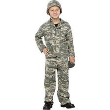 Army Halloween Costumes Amazon Seasons Boys Army Man Halloween Costume Clothing